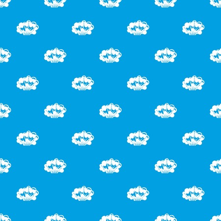 High powered explosion pattern seamless blue.
