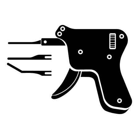 Code reader icon illustration. Illustration