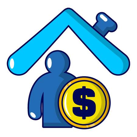 Home Security icon Illustration