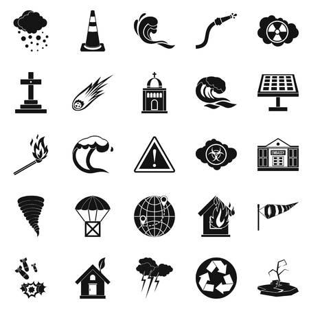 Complaint icons set