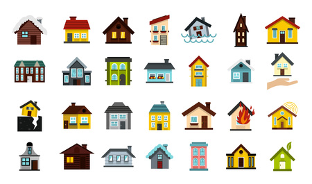 House icon set Ilustração