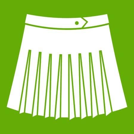 Tennis female skirt icon.