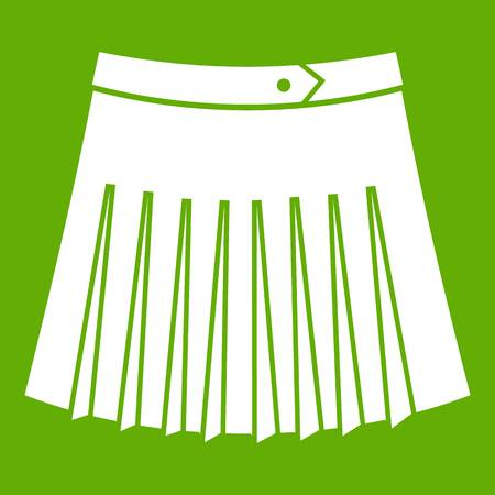 Tennis female skirt icon.