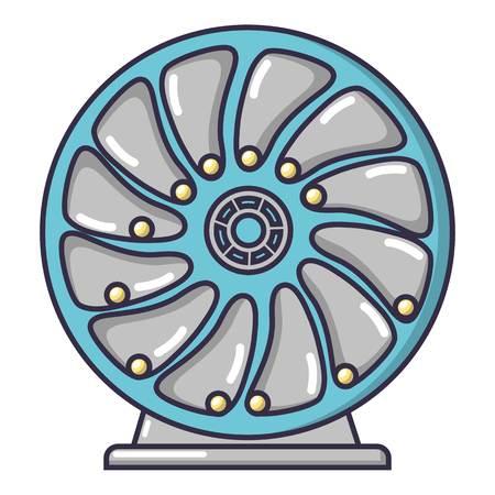 Perpetuum mobile icon. Cartoon illustration of perpetuum mobile vector icon for web.