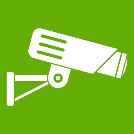 Security camera icon green