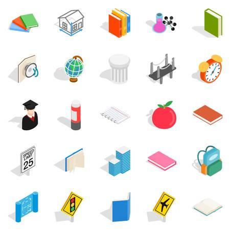Scientific approach icons set vector illustration Illustration