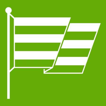 Flag LGBT icon green