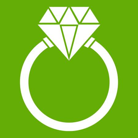 Ring LGBT icon green