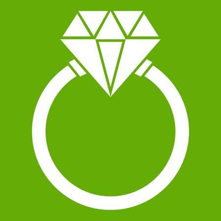 Ring LGBT icon green