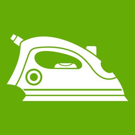 Iron icon green