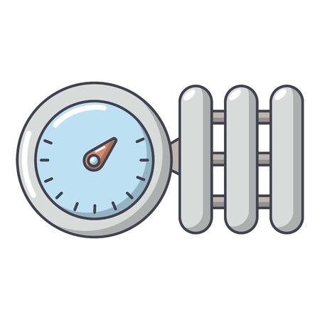 Manometer icon. Cartoon illustration of manometer vector icon for web. Illustration