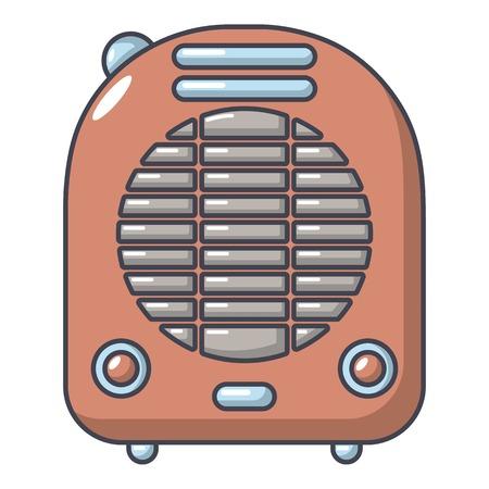Heat-blower icon. Cartoon illustration of heat-blower vector icon for web.