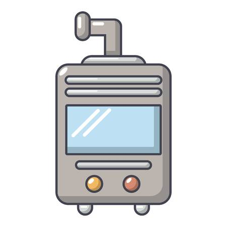 Oven-stove icon. Cartoon illustration of oven-stove vector icon for web.