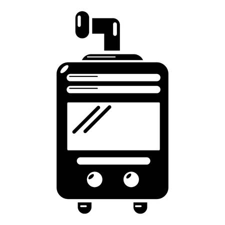 Oven-stove icon. Simple illustration of oven-stove vector icon for web.