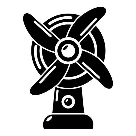 Ventilator icon, simple style.