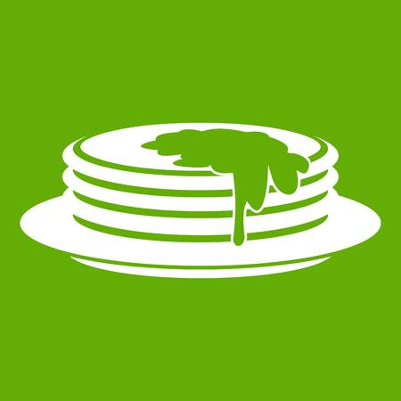 Pancakes icon vector illustration