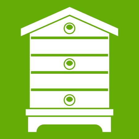Bee hive icon vector illustration