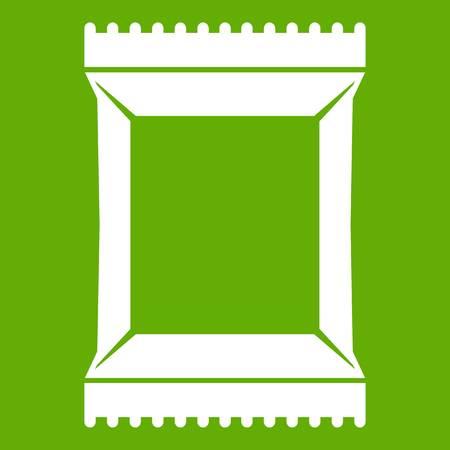 Napkins pack icon green Çizim