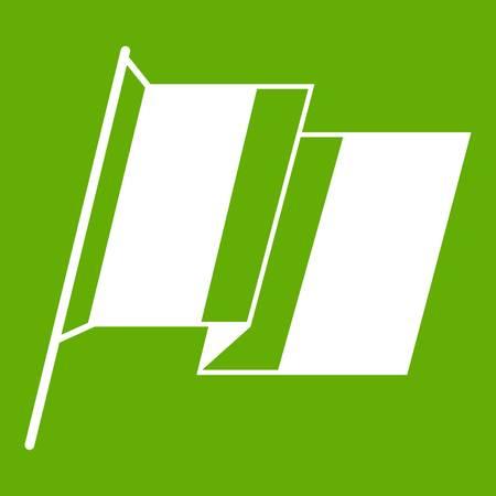 France flag icon green