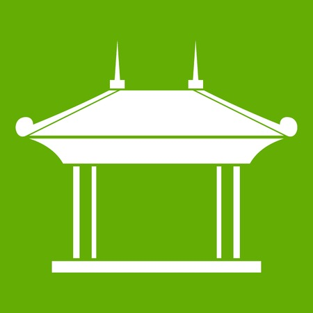 Pagode pictogram groen