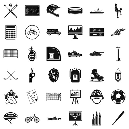 Wholesomeness icons set. Simple set of 36 wholesomeness vector icons for web isolated on white background.