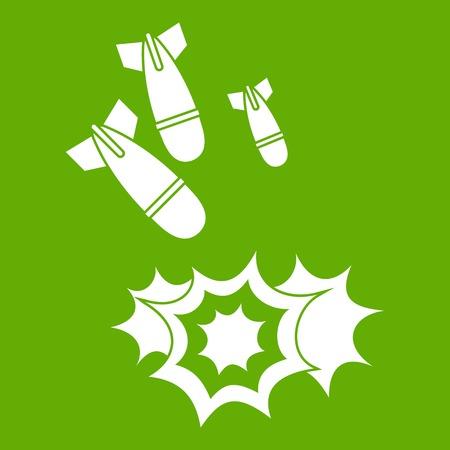 Bomb icon green