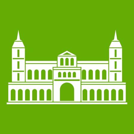 Castle icon green