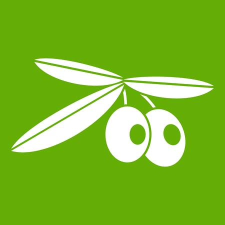 Olives icon green