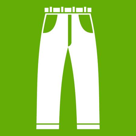 Jeans icon green