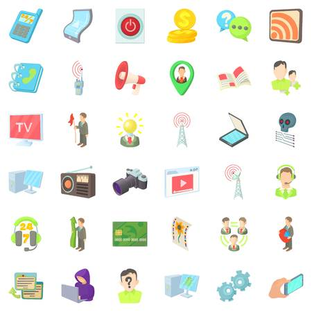 Video environment icons