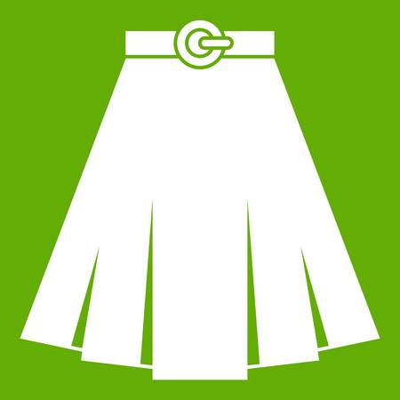 Skirt icon green