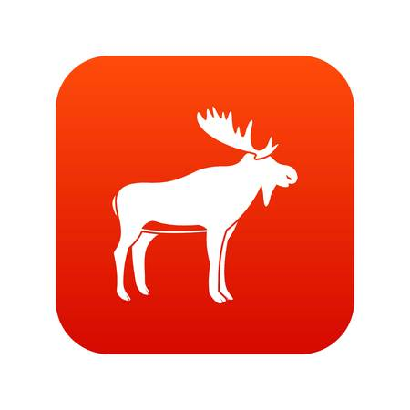 Deer icon Ilustrace