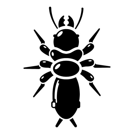Poison insect icon. Simple illustration of poison insect vector icon for web Illustration