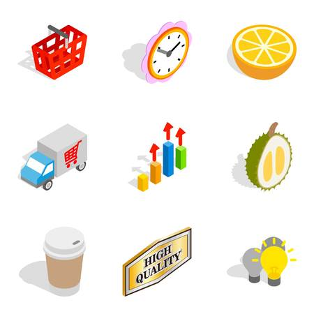 Promotional icons set