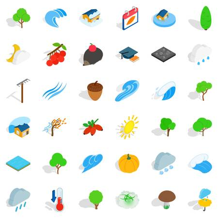 Earthly icons set