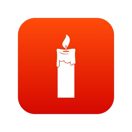 Candle icon Vettoriali