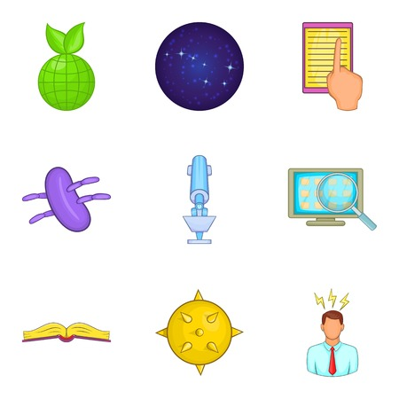 Intelligent approach icons set. Illustration