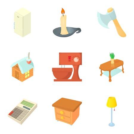 Neighborhood icons set