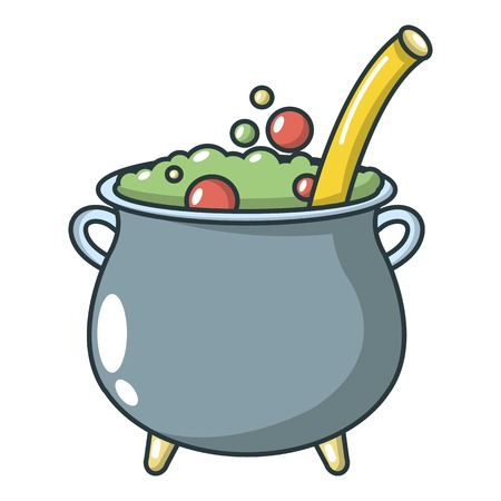 Potion icon, cartoon style