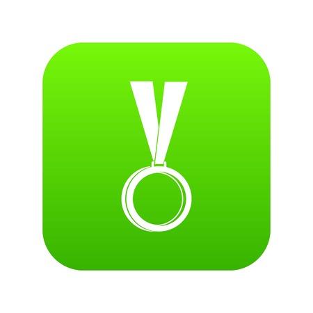Medal icon digital green