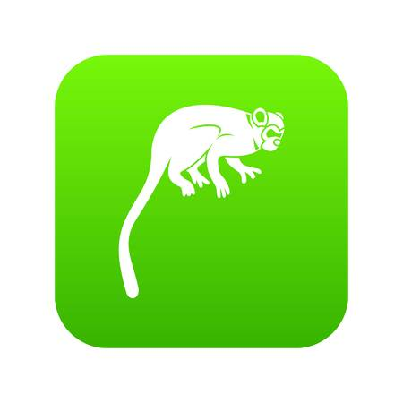 Marmoset monkey icon vector illustration Illustration