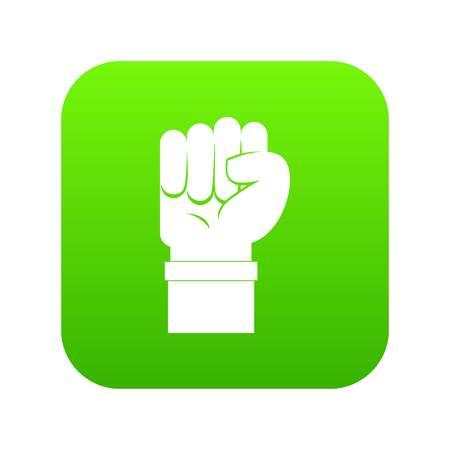 Fist icon vector illustration