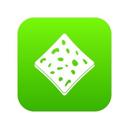 Tofu fresh block icon illustration 일러스트