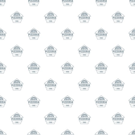 Pizza pattern vector seamless repeat for any web design