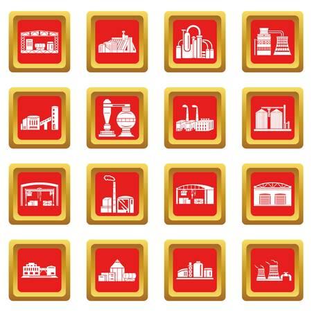 Bâtiments usine et de la production Banque d'images - 99182175