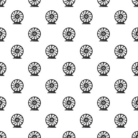 Perpetuum mobile pattern vector seamless repeating for any web design