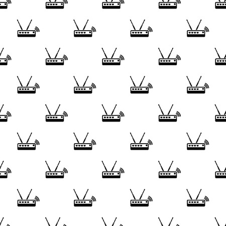 Router pattern vector seamless repeating for any web design