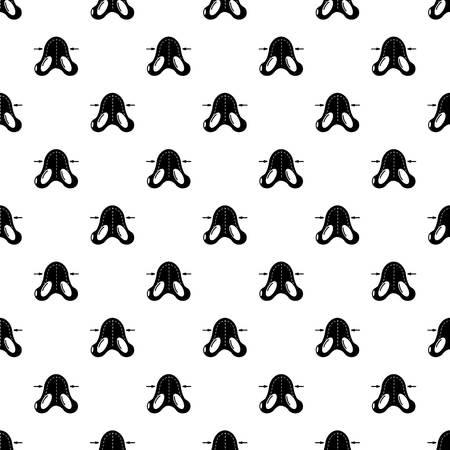 Nose reduction pattern Illustration