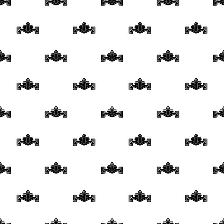 Racing car formula pattern vector seamless repeating for any web design Illustration
