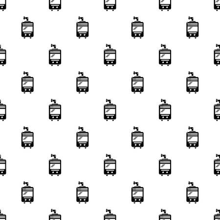 Oven-stove pattern vector seamless repeating for any web design Illustration
